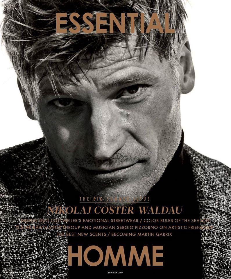 Николай Костер-Вальдау в Essential Homme (8 фото)