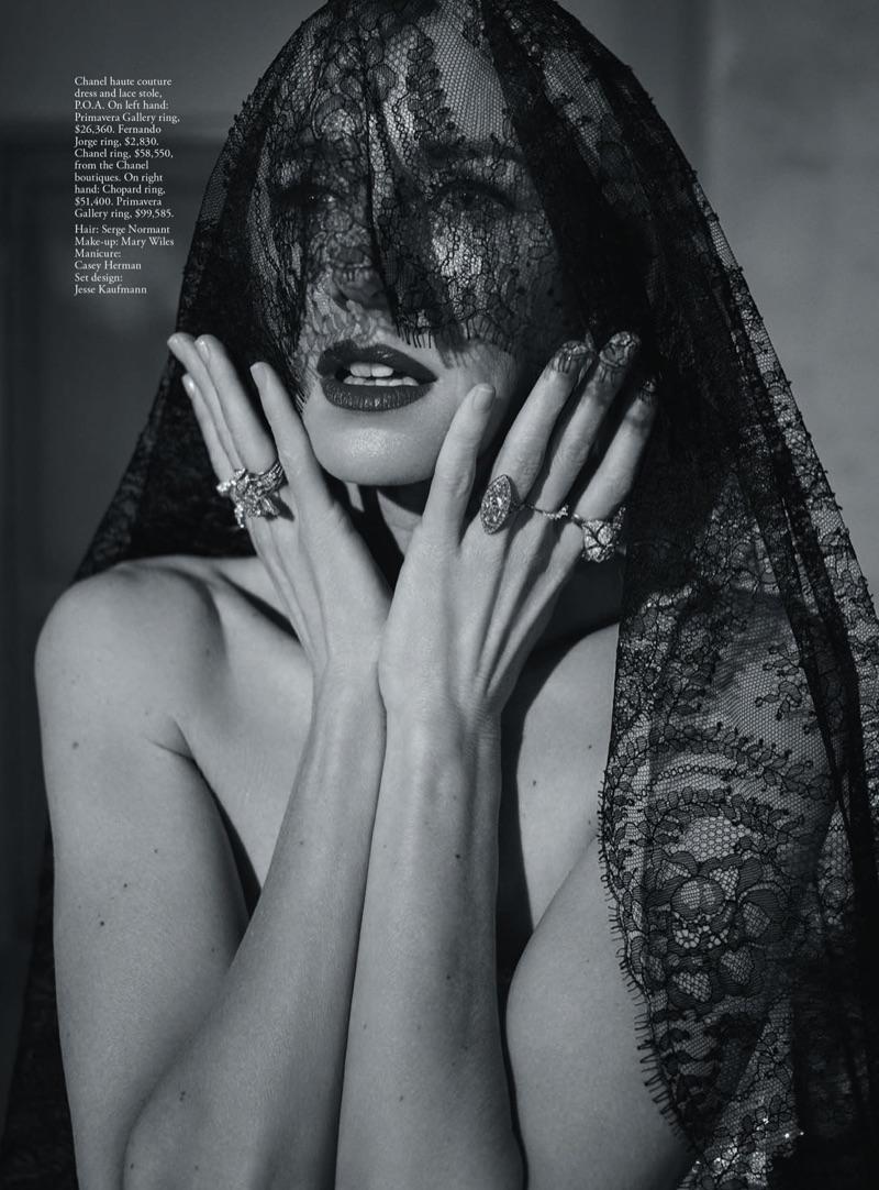 Наоми Уоттс в австралийском Vogue