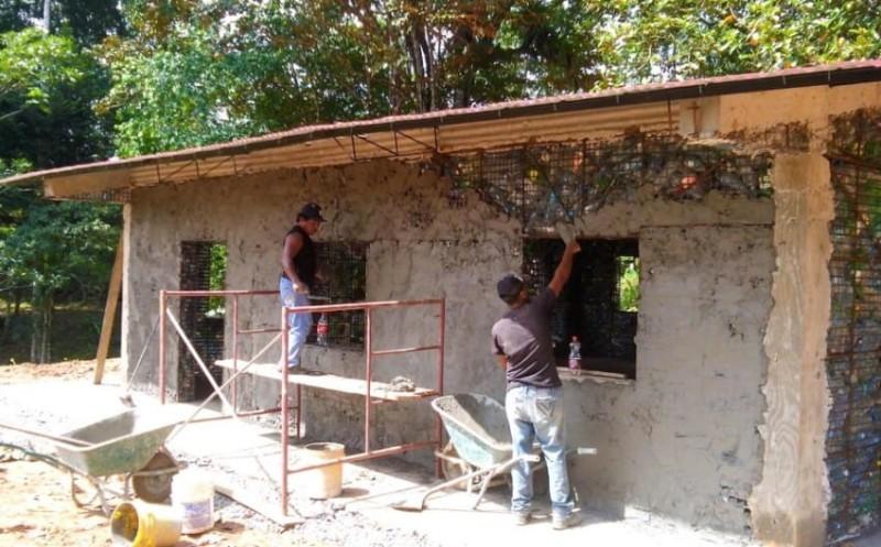 Работа над проектом началась в 2015 году и продолжит развиваться в три этапа. Деревня займет площадь