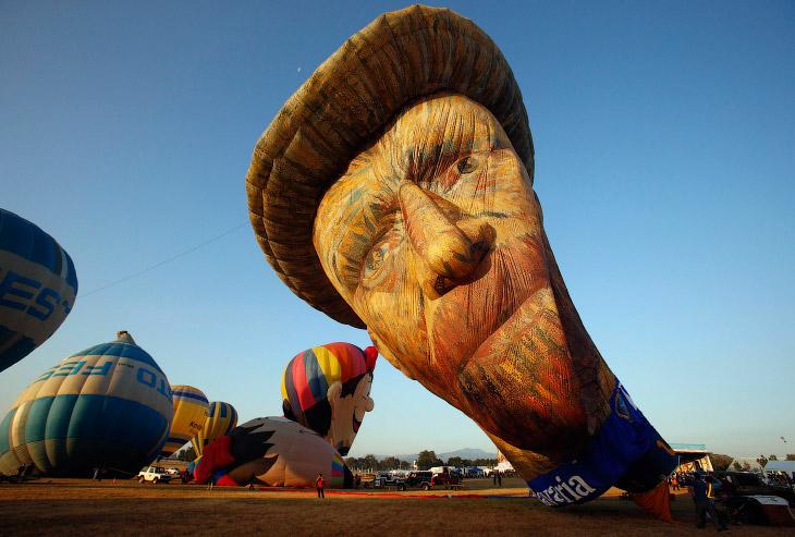 Международный фестиваль воздушных шаров на Филиппинах (12 фото)
