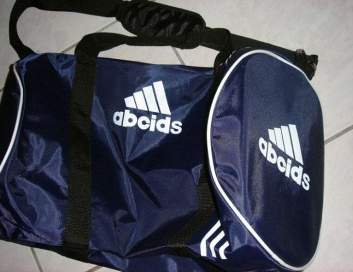 Бедный Adidas, как его только не коверкали.