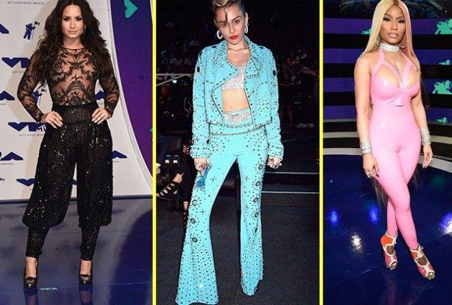 Самые нелепые наряды звезд на премии MTV VMA 2017 (13 фото)