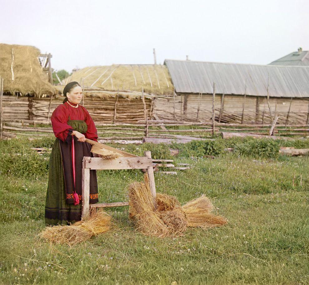 6. Крестьянка, Пермская губерния.
