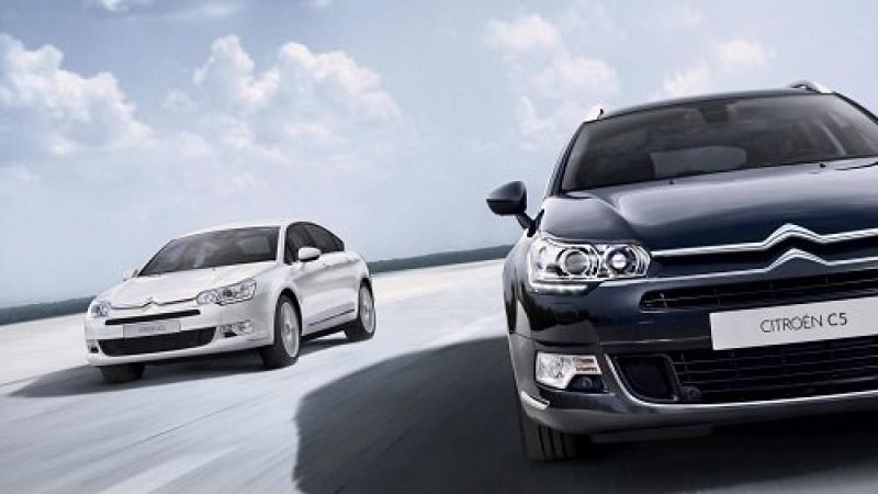 «Ситроен» насто процентов изменил дизайн седана C5