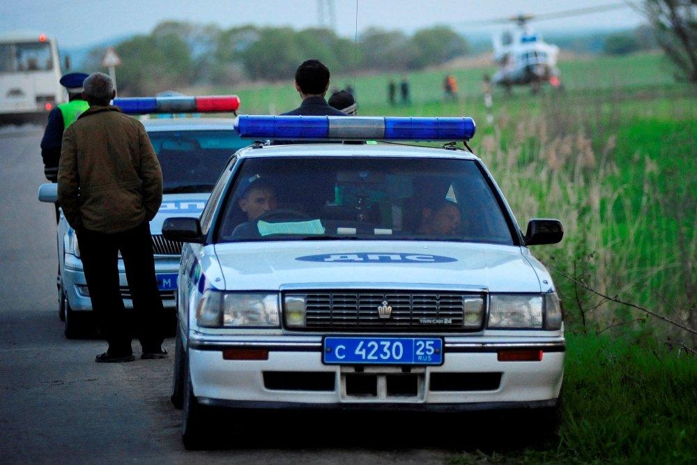 Названы самые необычные полицейские авто в РФ