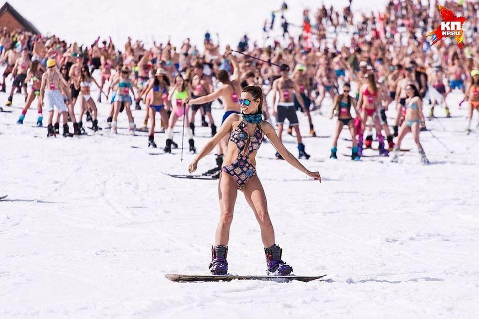 Лыжник вШерегеше поджег себя, чтобы стать лучшим райдером