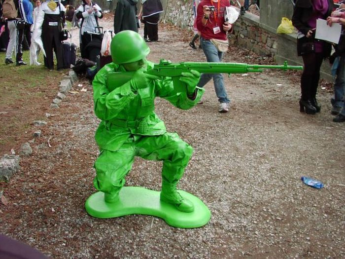 Тем временем в армии