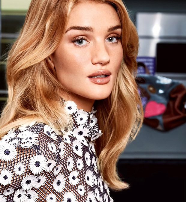 Rosie Huntington-Whiteley Stars in Instyle Magazine February 2017 Issue (8 pics)