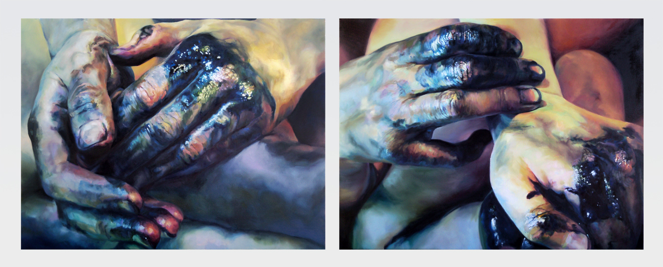 Cara Thayer & Louie Van Patten