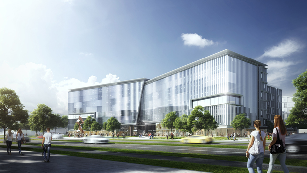 Discover Jinwan Aviation City Research and Development Centre  ( China ) winning proposal by 10
