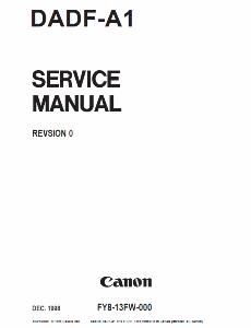 service - Инструкции (Service Manual, UM, PC) фирмы Canon 0_1b1059_5f140e4f_orig