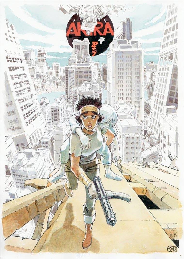 Tribute to Katsuhiro Otomo - 42 artists pay tribute to the master of manga