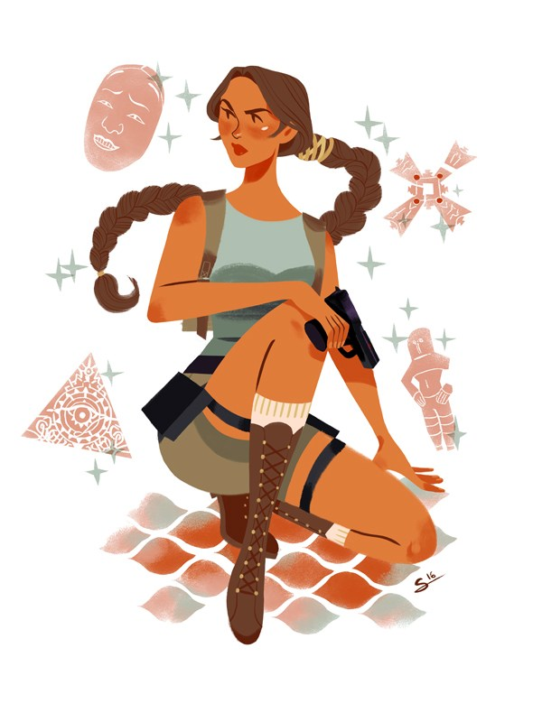 Exclusive Prints by French Artist Sibylline Soon on the Geek-Art Store !
