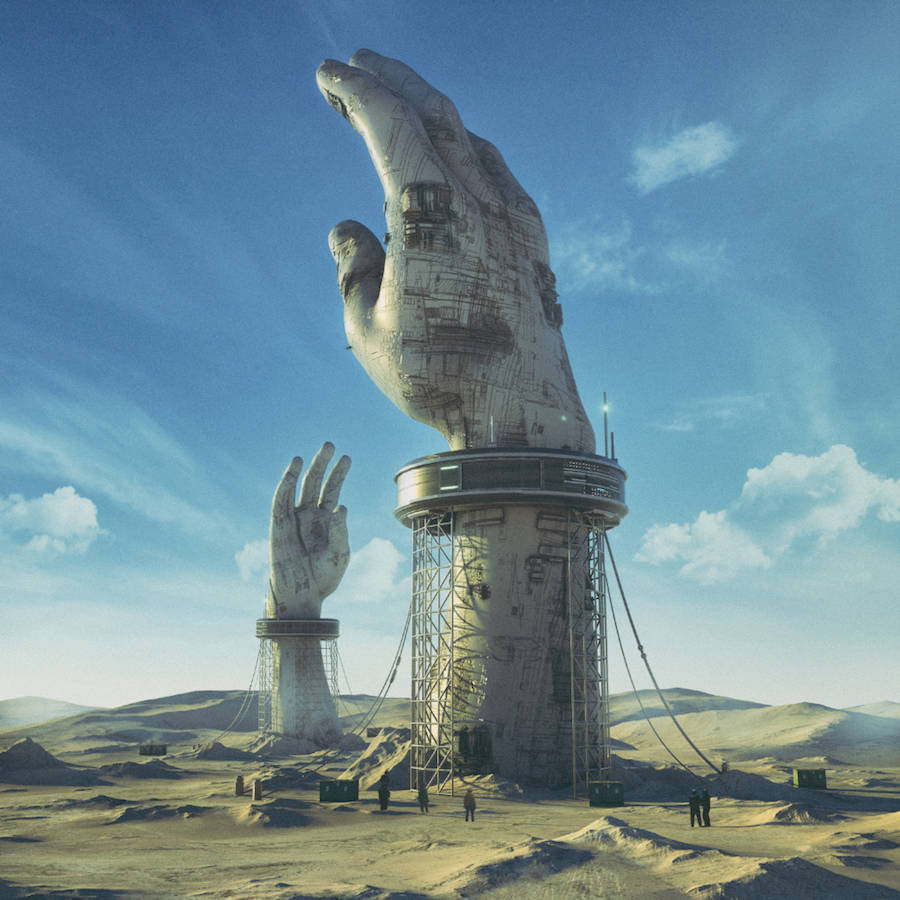 Sumptuous Dystopian Scenery Prints
