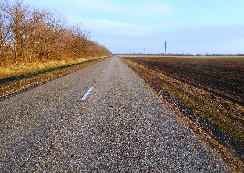 На шоссе, январь ... DSCN0966.JPG