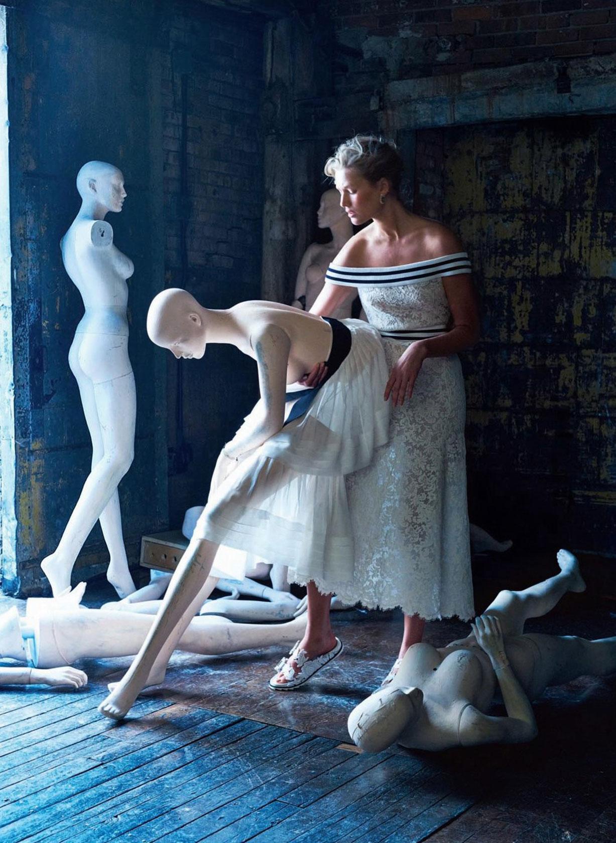 Кукольный домик с Тони Гаррн / Toni Garrn by Kristian Schuller - Bal Harbour spring 2017