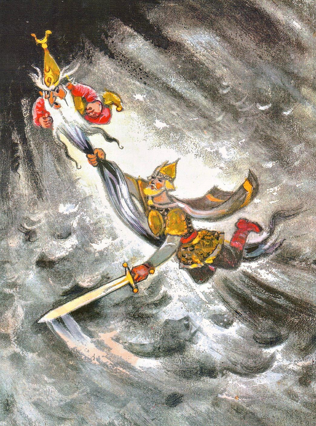 иллюстрации сказок в картинках людмила и руслан мороз