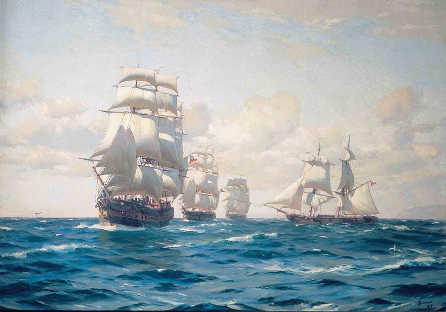 Primera Escuadra Nacional - Armada de Chile.
