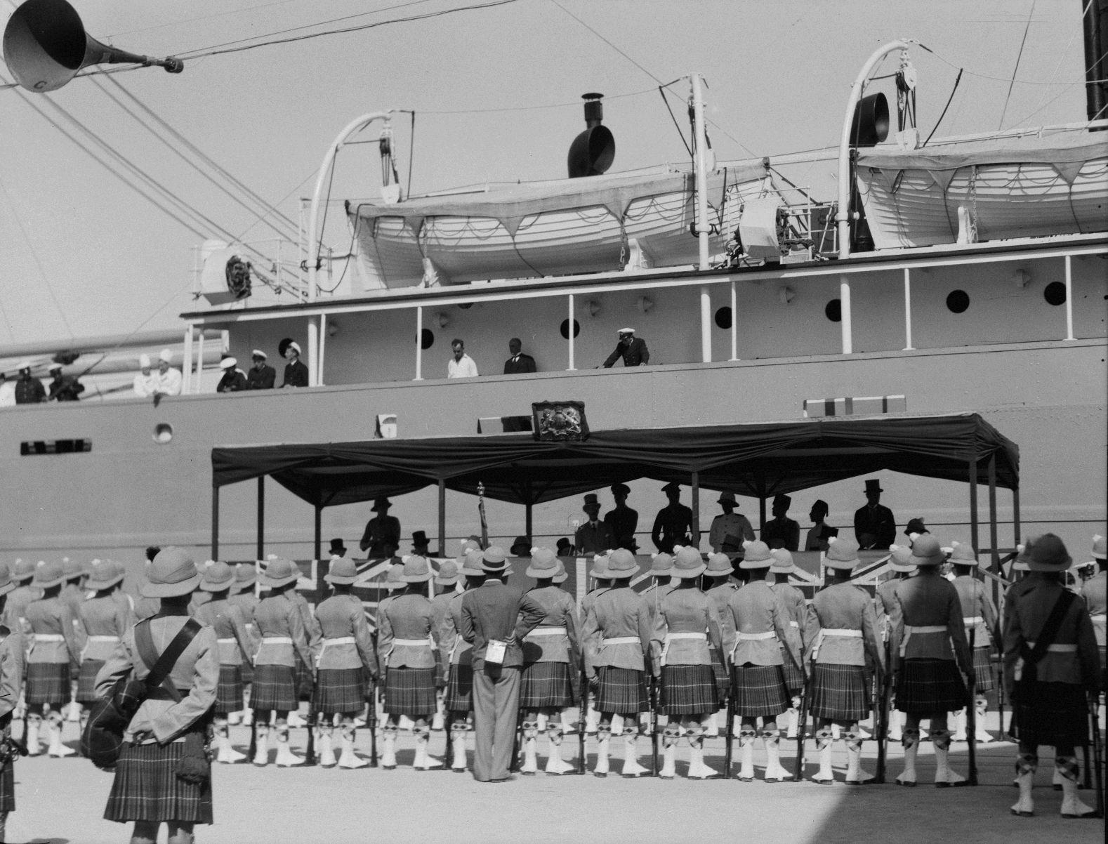 Открытие порта. 31.10. 1933
