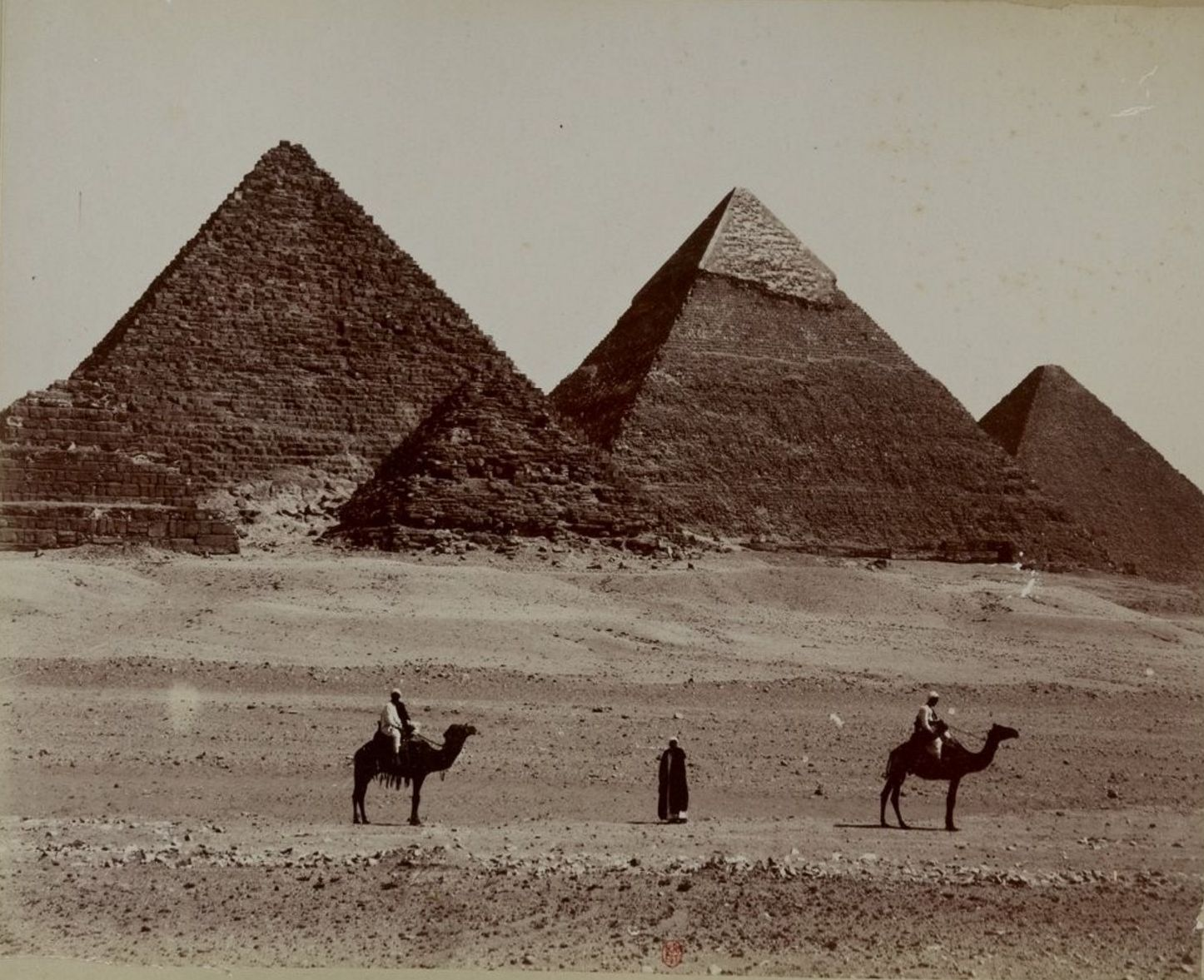 Гиза. Пирамиды. 1890-е