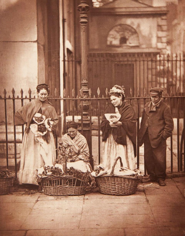 1877. Цветочницы Ковент-Гардена