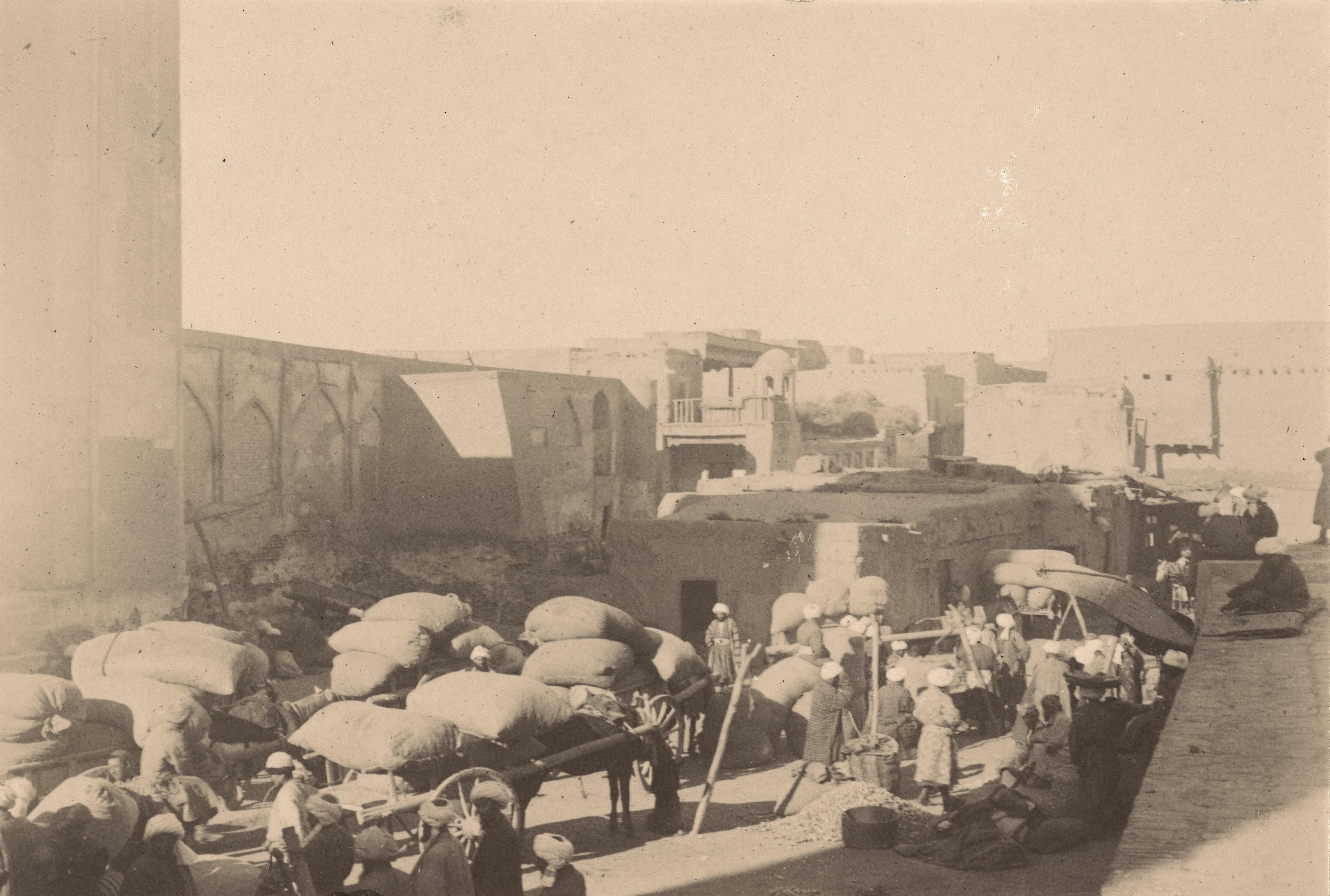 24. Хлопковый базар в Бухаре