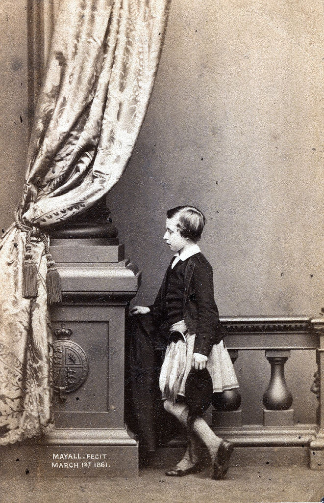 1861. Артур, герцог Коннаутский (1850—1942) — третий сын королевы Виктории