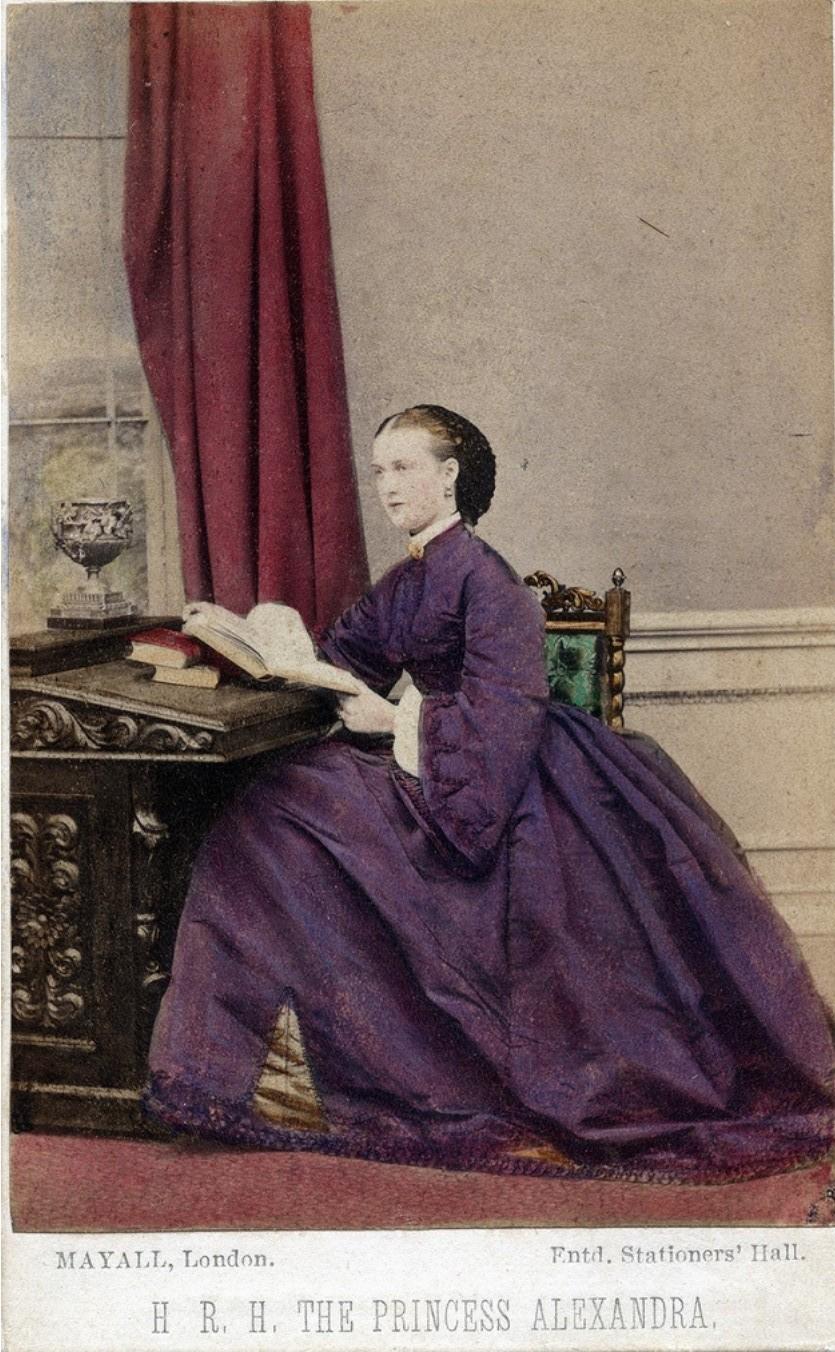 1862. Принцесса Александра Датская, ноябрь