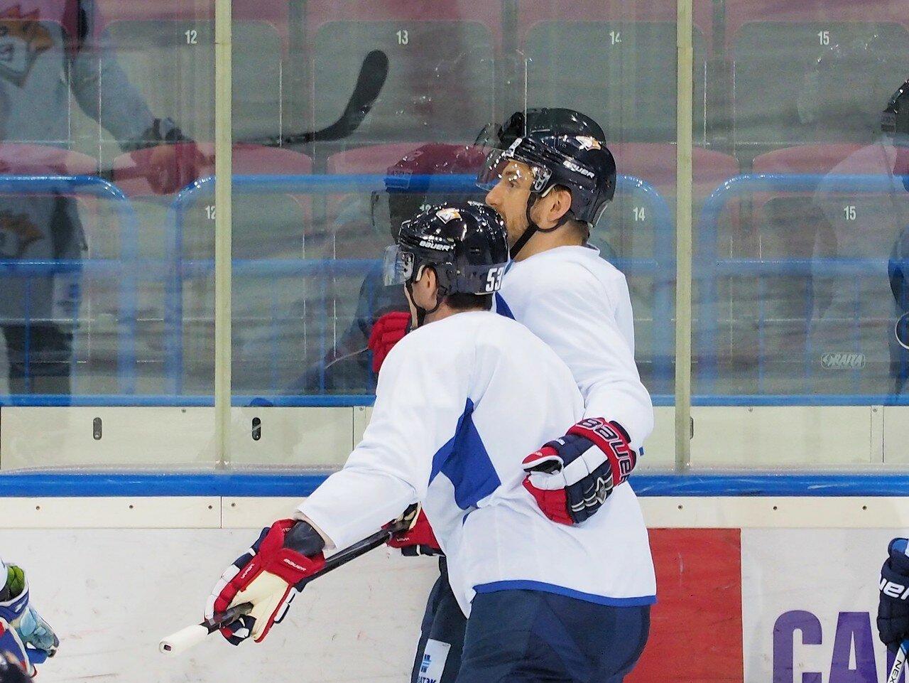11 Открытая тренировка перед финалом плей-офф восточной конференции КХЛ 2017 22.03.2017