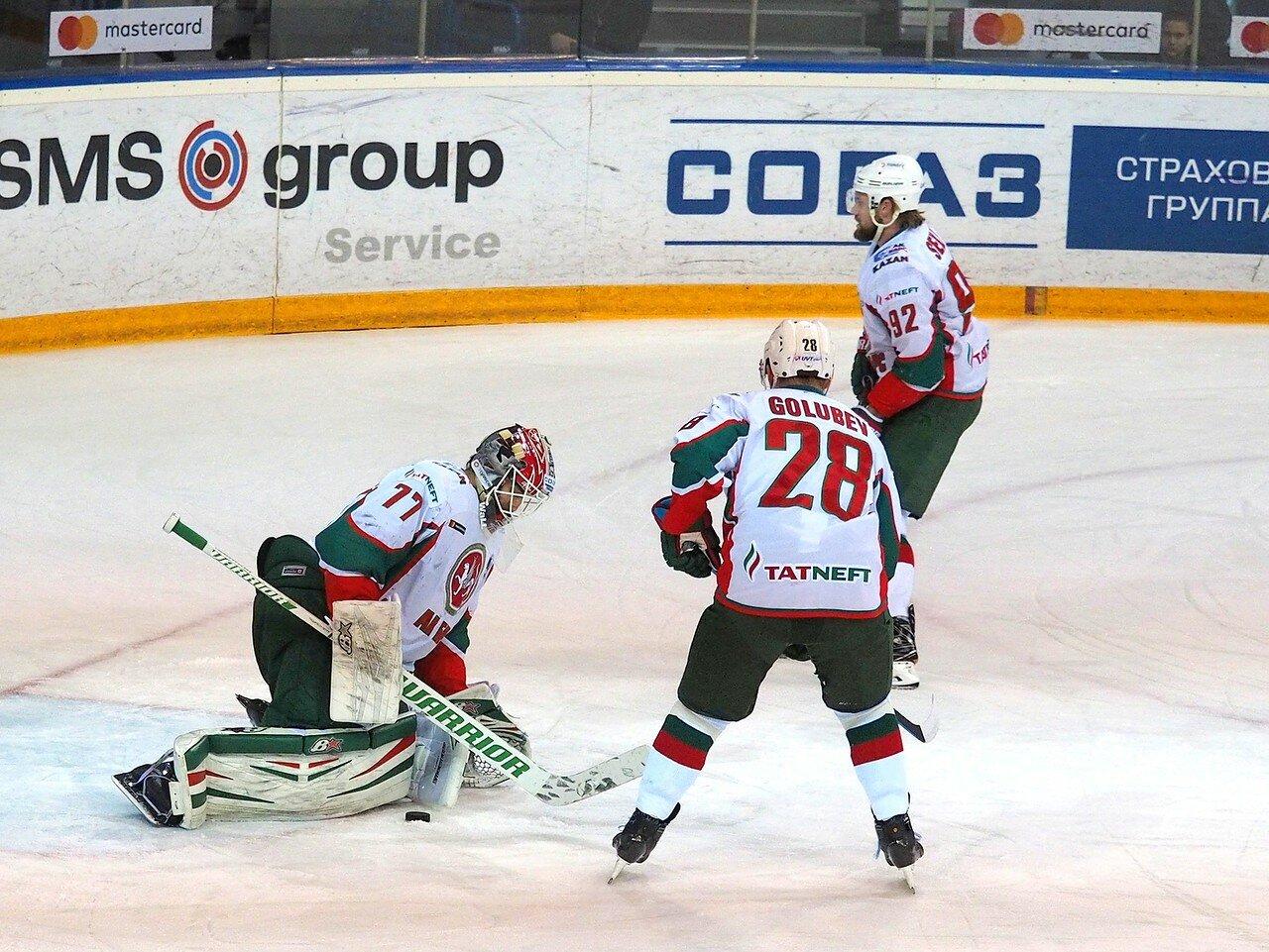 22 Первая игра финала плей-офф восточной конференции 2017 Металлург - АкБарс 24.03.2017