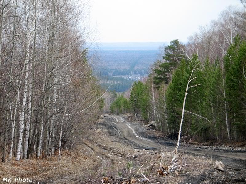 Внизу - Раздолье и Иркутско-Черемховская равнина