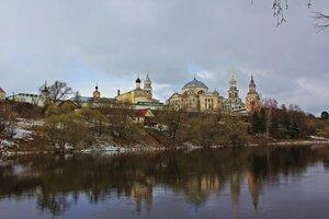 Борисоглебский монастырь город Торжок