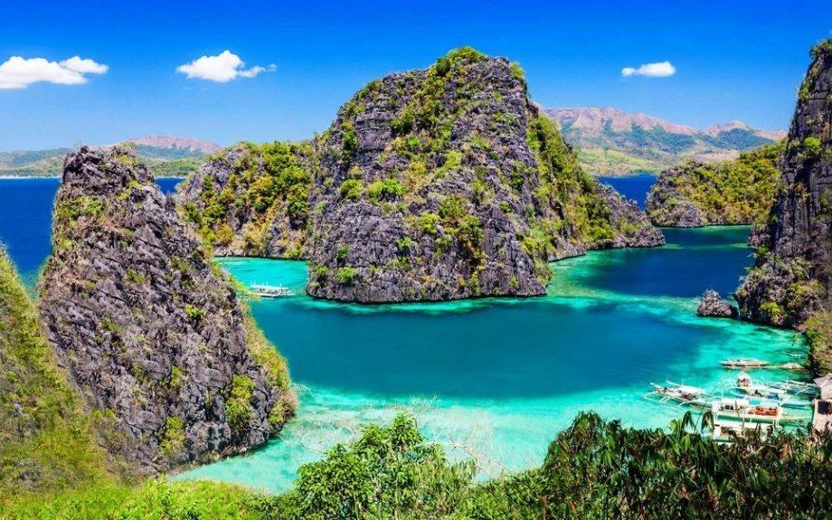 Места, где можно увидеть голубые воды