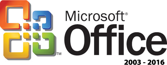 Microsoft Office | 2003-2016 | Standard, Professional Plus + Visio Pro + Project Pro