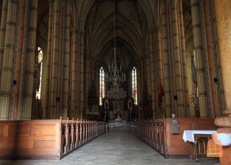 Интерьер храма Святого Герхарда