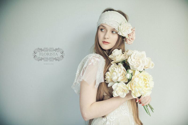 Образ невесты в Бохо стиле.