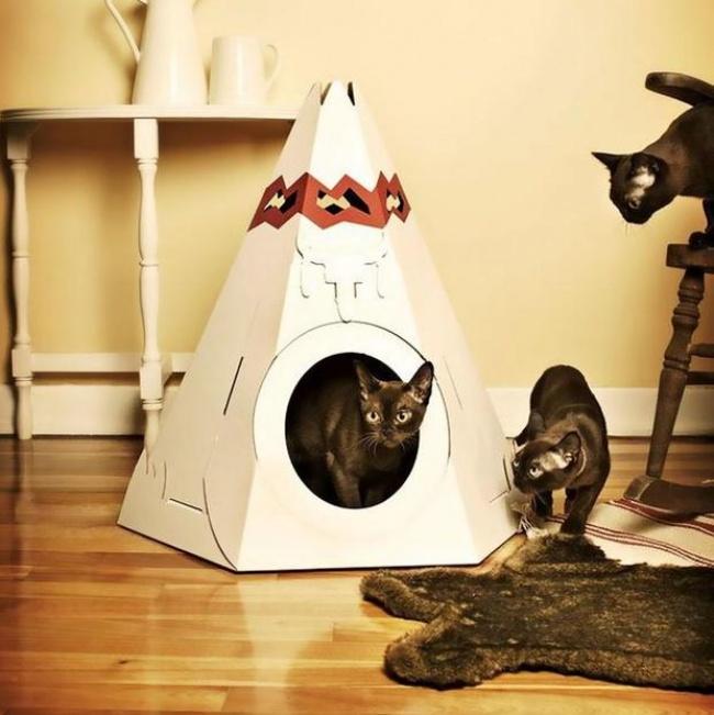 Эта фирма производит возмутительно крутые игрушки для котов
