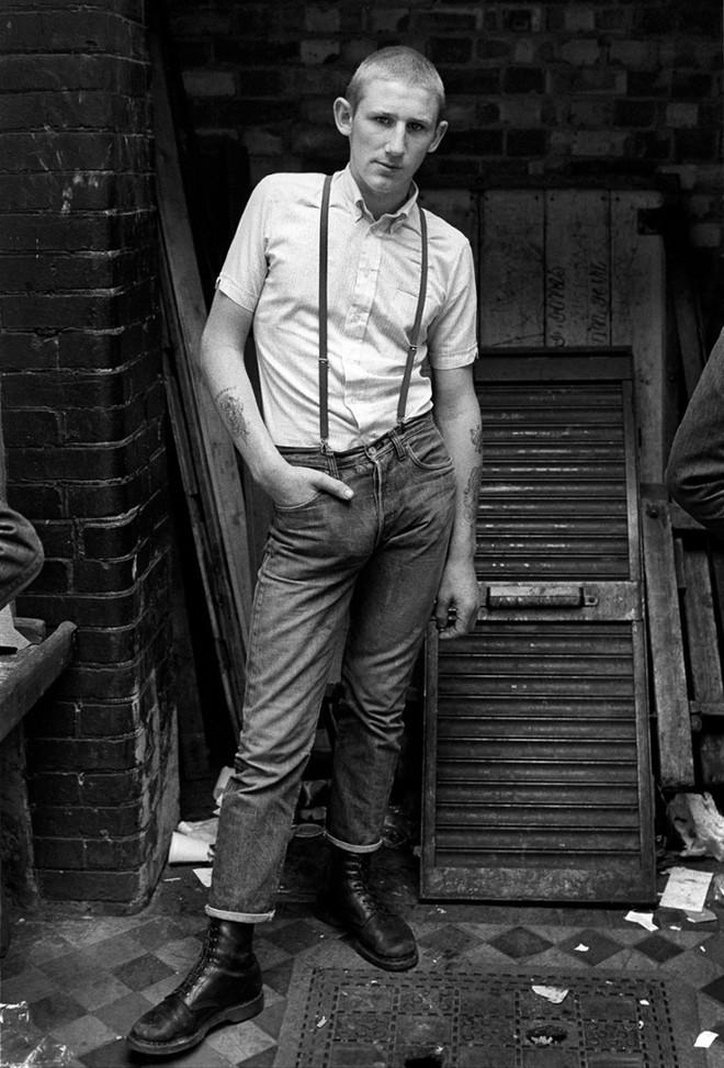 1981. Кевин возле магазина «Последняя надежда» на Гоулстон-стрит