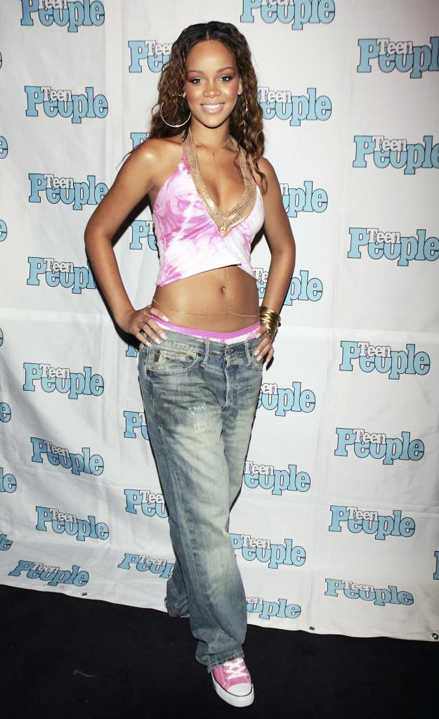 Рианна в 2005 году.