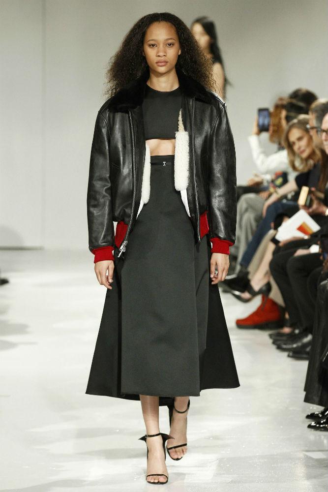 Показ Calvin Klein на Нью-Йоркской неделе моды, 10 февраля.