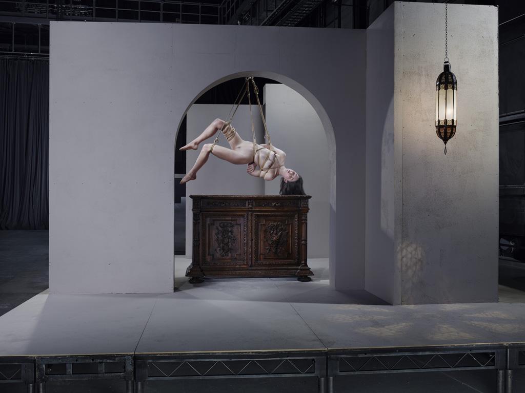 Мэйси Тэйлор, воздушная гимнастка. Поиск героинь занял несколько месяцев, однако съемки проходили бы