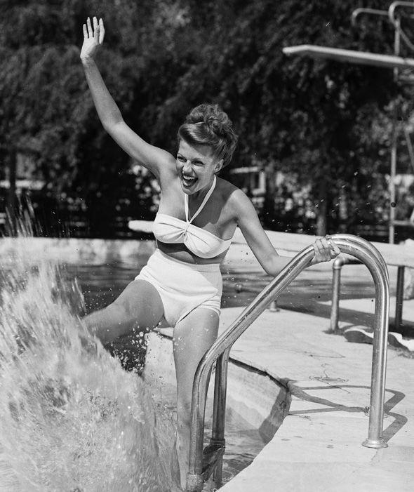 Рита Хейворт, 1950-е.