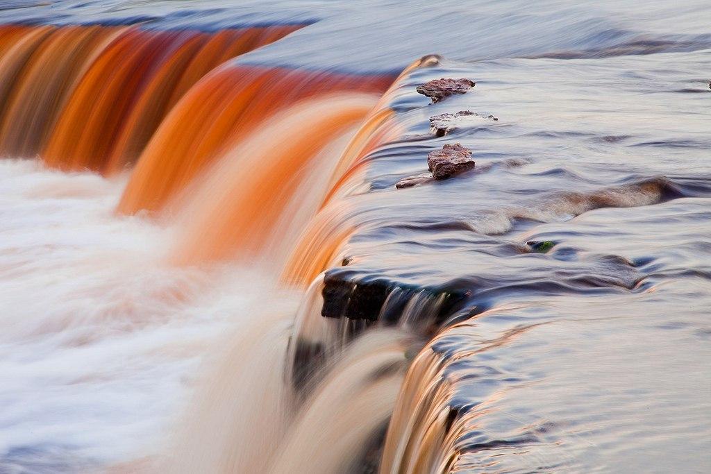 Берега реки Тосны настолько древние и река течет тут и откусывает у берегов так давно, что любители