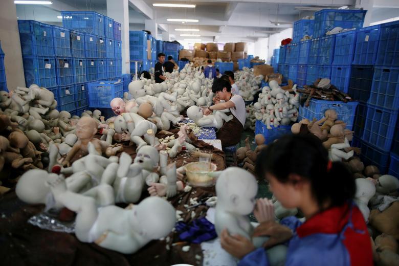 Made in China: как кипит работа на китайских фабриках (21 фото)