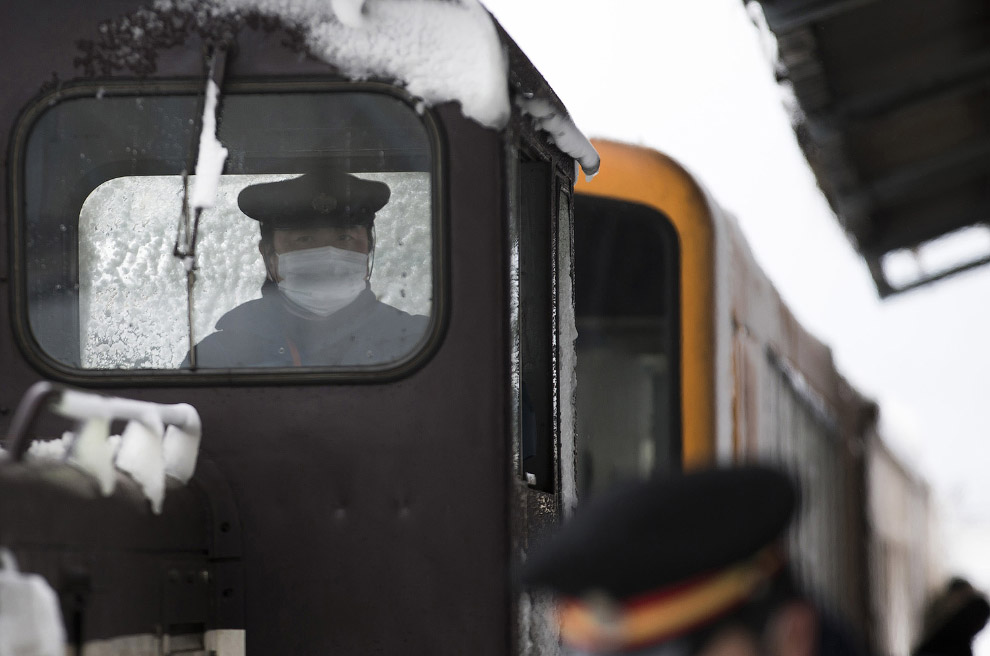 6. Места тут суровые зимой, как у нас в Сибири. (Фото Tomohiro Ohsumi):