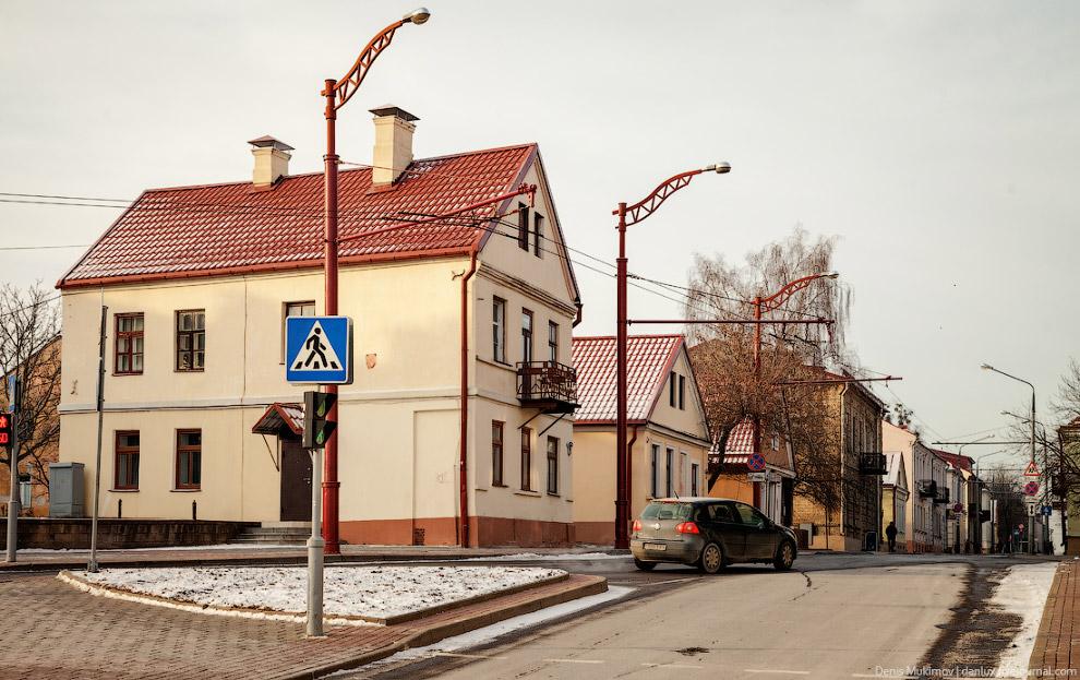 11. Справа — типичный гродненский балкон.