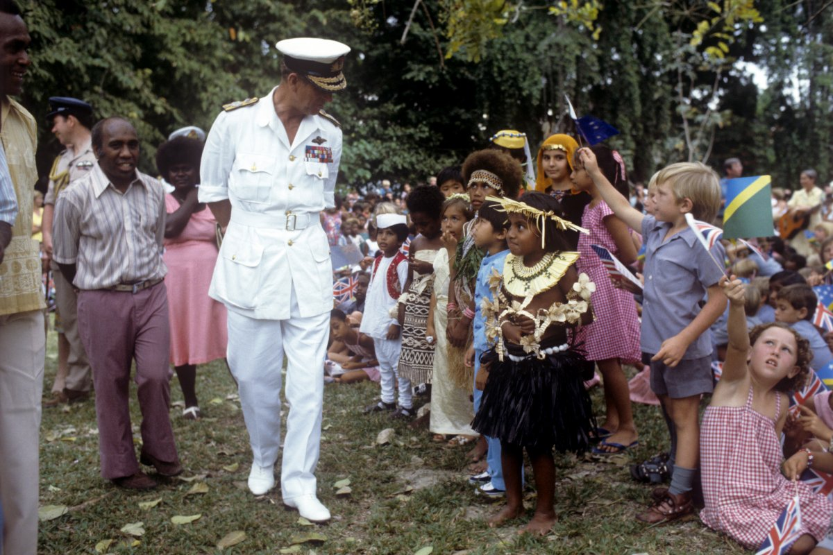 Остров Гуадалканал, Соломоновы острова, 1982 год.