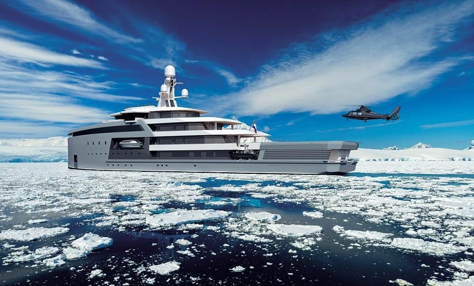 11. Пополнение припасов. Помещения яхты одинаково хорошо обустроены для пребывания как в полярных ши