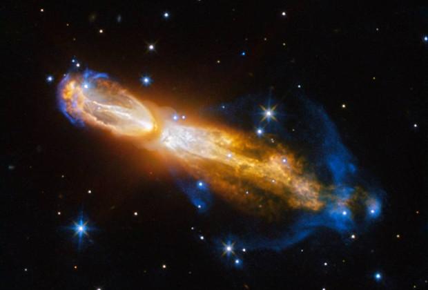 Телескоп Hubble прислал наЗемлю снимок бриллиантовой «звездной смерти»