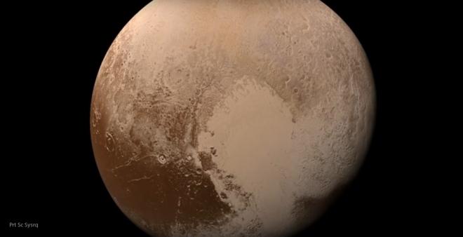 «Сердце» Плутона официально назовут вчесть советского «Спутника-1»